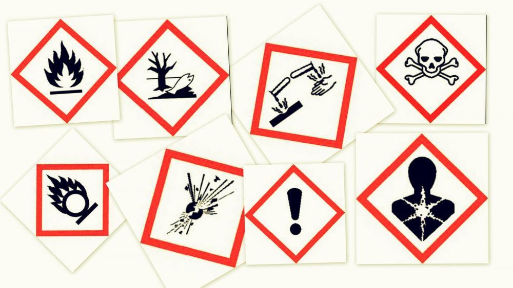 Piktogrami za označevanje nevarnih snovi